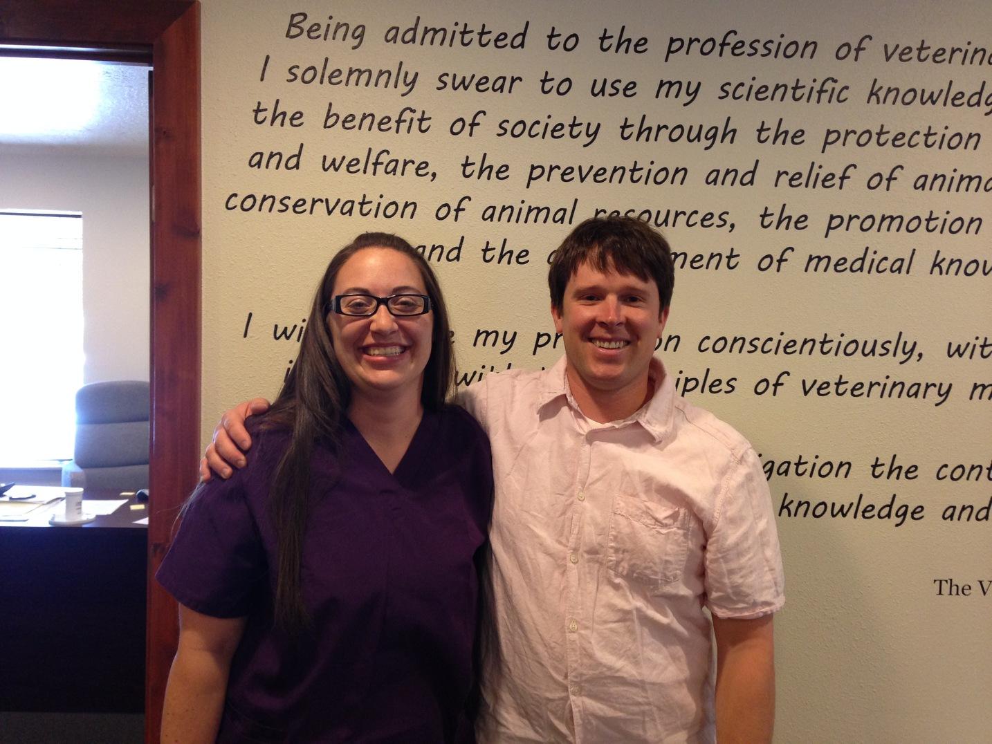 Jessica & Dr. Gardiner